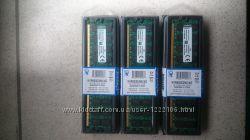 Оперативная память KINGSTON DDR2 4Gb 800 MHz PC2-6400 новая в наличии