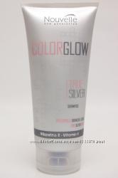 Антижелтый шампунь для седых волос Nouvelle Color Glow
