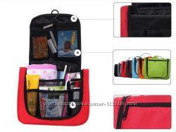 Косметичка, органайзер, сумка для косметики в отпуск, дорогу, командировку