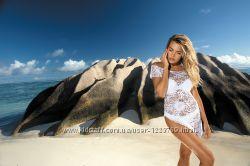 Красивые пляжные парео, туники и платья от Etna - супер цены