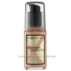 Тональный крем Max Factor Second Skin Foundation