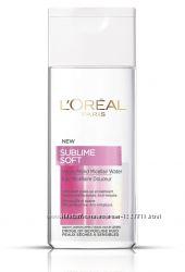 Мицеллярная вода для снятия макияжа LOreal Paris Sublime Soft