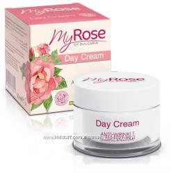 Дневной крем для лица против морщин 35 плюс, My Rose