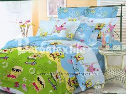 Детский постельный комплект, полуторный