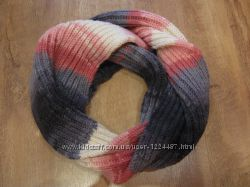 Теплый шарф