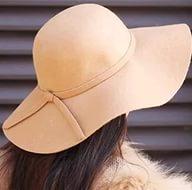 Самое лучшее качесвто Фетровая широкополая шляпа шляпка с широкими полями