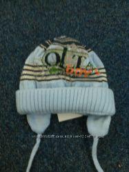 Зимняя шапочка  для мальчика.