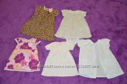Летние качественные брендовые платья для Ваших принцесс на 12 мес.