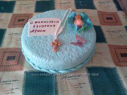 Торт на крестины под заказ Киев