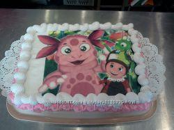 Детский торт Лунтик на заказ