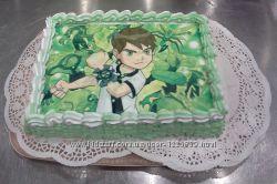 Детский торт Бен Тен на заказ