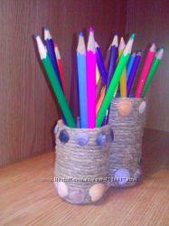 Стаканчик для карандашей, ручек и прочих мелочей