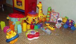 Фирменные игрушки Chicco, Fisher Price в хорошем состоянии