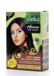 Краска для волос на основе натуральной  хны дабур ватики