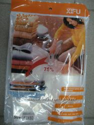 Пакет вакуумный 50см60см  60см80см, 70см100см, 80см120см чехол для одежды