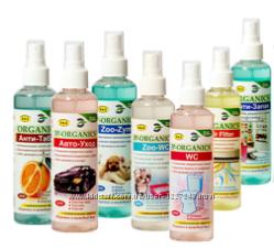 Анти-Запах. Органический спрей для устранения неприятных запахов. ассорт-т
