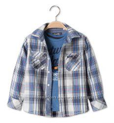 стильный набор для мальчика рубашка размер 98