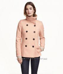 светлое пальто размер S 38 H&M