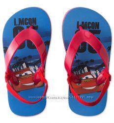 сандалики размер 27-28 и 29-30 с молнией McQueen тачки Disney