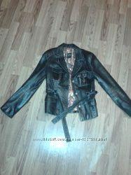 Кожаная куртка натуральная кожа сезон осень весна