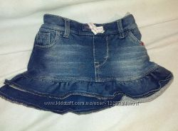 юбка джинсовая левис 24мес