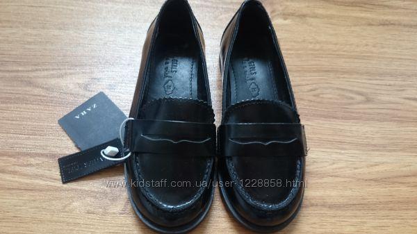 моднячие туфли для девочки ZARA