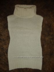 Вязаное платье-туника  TERRANOVA. размер 4-5 лет, 104-110см.