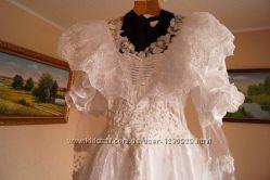 Свадебное платье в пол 44-46 размер модель Принцесса