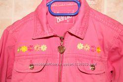 Ветровка куртка Барби 5-6 лет классная