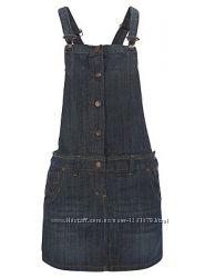 Стильный джинсовый САРАФАН George 44-46