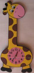 Продам настенные часы Жирафчик