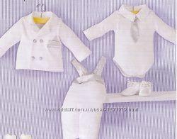 Нарядные комплекты на выписку, на крещение для малышей