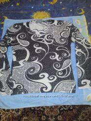 свитерок с люрексом, свитерок темно- бирюзовый