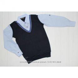 Рубашка на рост 128 см , 140 см, 152 см, 164 см
