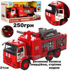 машина пожарная, пожежна машина