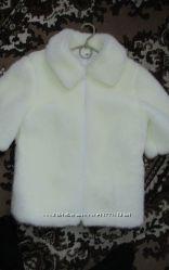 свадебная белая шуба, рукав тричетверти