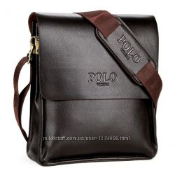 Сумка через плечо Polo Videng Classic коричневая