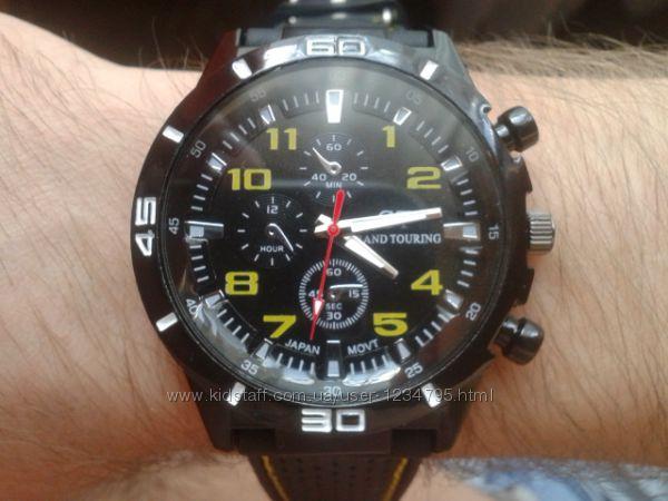 Силиконовые LED часы SHORS SH-689 синии