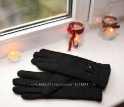 Кашемірові рукавички з телою підкладкою нові