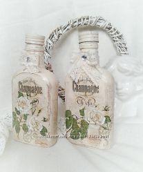 Интерьерные бутылочки Нежность