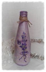 Декоративная бутылочка Лавандовый букет
