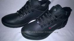 РаспродажаМужские кожаные ботинки Columbia, новые, все размеры