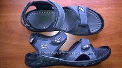Распродажа. сандалии , черные и синие
