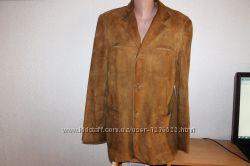 Пиджак натуральная замша р. 50