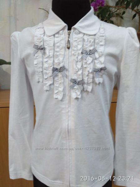 Красивая блузка для девочки -размеры от 134 по 152