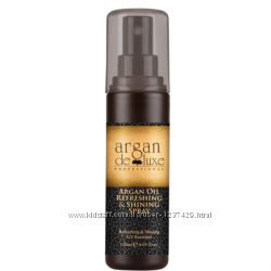 Argan De Luxe Refreshing And Shining Spray Спрей-блеск арган