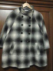 Пальто манто рукав три четверти, TU, размер 14