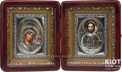 Казанская венчальная пара Богородица и Господь Вседержитель