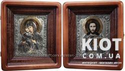 Венчальные иконы Владимирская Пресвятая Богородица и Господь Вседержител