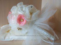 Брошь-букет для невесты